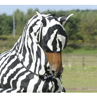 Bucas Zebra Fly Mask