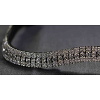 Flexible Fit Crystal Princess Wave Browband
