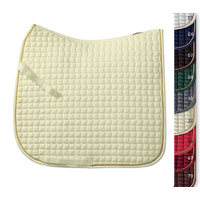 Eskadron Cotton Dressage Saddle Cloth with Gold Cord