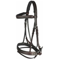 Venice Bridle - Dark Brown