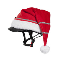 Horze Spirit Christmas Helmet Cover