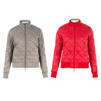 Alissa Women's Quilted Bomber Jacket