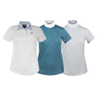 Horze Blaire Ladies' Short-Sleeved Functional Show Shirt