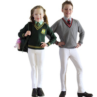 Kids Just Joddies Pull On Jodhpurs (White)