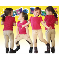 Little Lyndi Boys & Girls Beige/Chocolate Jodhpurs - Sizes 0-3