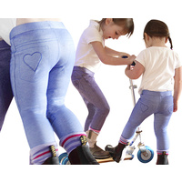 Little Lyndi Girls Cornflower Blue Jodhpurs - Sizes 0-3