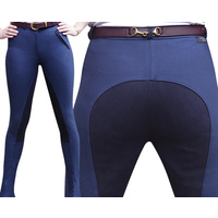 Lyndi J Navy Ladies Sticker Jodhpurs - Original Fit