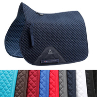 Premier Equine Plain Cotton GP/Jump Square Saddle Pad