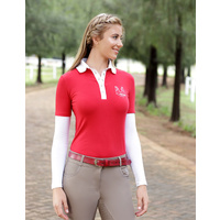 Kwesta Laura Pearl Press Stud Casual Polo