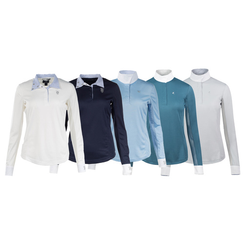 Horze Blaire Ladies' Long-Sleeved Functional Show Shirt