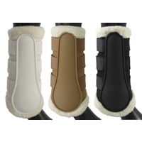 Equinenz Breathable Wool Brushing Boots