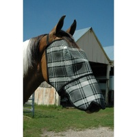 S - L Mini Fly Mask With Nose Protection