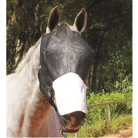 XS - XL Fly Mask With Ripstop Nose Protector