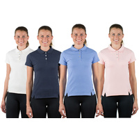 Horze Erin Cotton Ladies Polo Shirt