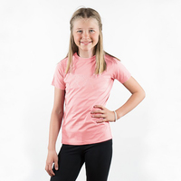 Horze Abbie Kids T-Shirt - Powder Pink