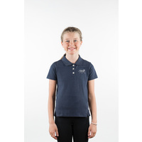 Horze Erin Kids Cotton Polo Shirt
