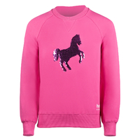 Horze Sofie Kids Reversible Sequined Sweatshirt