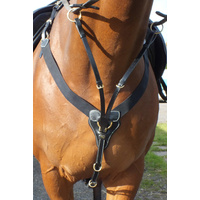 John Whitaker Elasticated V-Check Breastplate