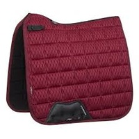 LeMieux Carbon Mesh Dressage Square - Mulberry - Large