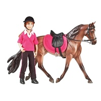 Breyer Classic Abigail English Rider & Accessory Set